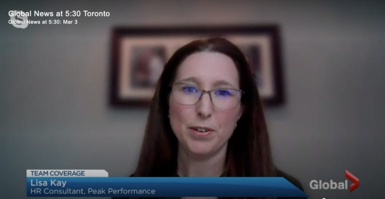 Lisa Kay Human Resources Outsourcing Company Toronto Global Tv Video